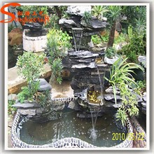 factory wholesale modern water fountains for garden antique indian waterfall with pump decorative bronze rokery prices