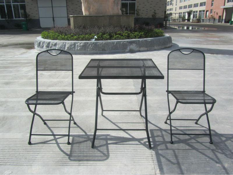 Super market quality outdoor morden metal mesh patio for Quality garden furniture