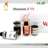 The Best Flavor Largest Vapor Indulgence Rda Authentic Mutation X V4