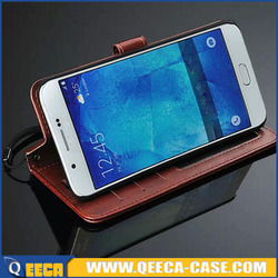 Card holder slot & flip stand Luxury PU leather wallet cover case for Samsung Galaxy Grand Neo i9060