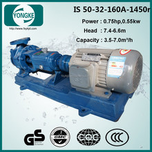 IS low consumption three phase water pump specifications