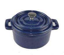 Mini cast iron pan, stockpot, steamer, enamel pot original single 10 cm pot, cast iron pot