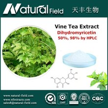 Strict controlling and inspection herb medicine vine tea extract dihydromyricetin