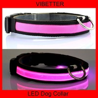 VIBETTER-LDC-5 2.5cm Single dark side LED dog/pet collars