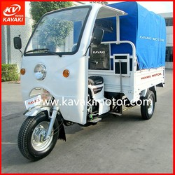 KAVAKI three wheels motorcycle with blue tent for passenger / 150cc/175cc/200cc/250cc