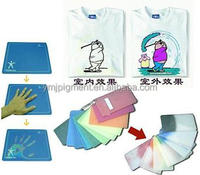 Photochromic Powder Pigment/light color changing paint for textile printing