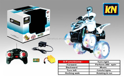 Electric moto car with LED & music,9 functions beach rc motorcycle sale