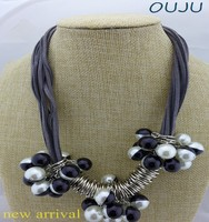 OU4960 country fashion trends pearls necklace statement,turkish necklace