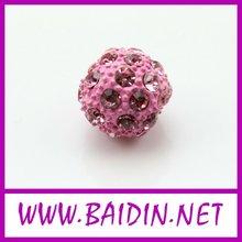 vintage rhinestone ball alloy beads wholesale