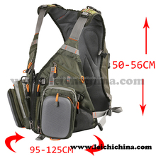 Wholesale in stock high quality fly fishing vest