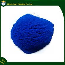 Iron oxide blue for acid stain concrete