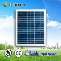 Bluesun solar powered bag use polycrystalline solar panel 20w