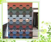 color granules finished asphalt shingles