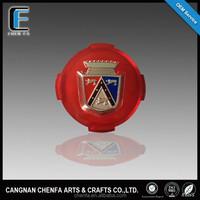 Custom auto decoration acrylic chrome 3D car emblem