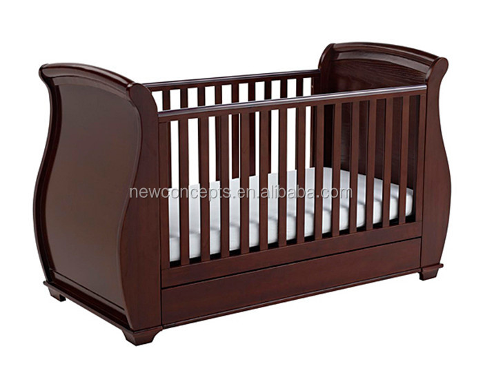 Nouvelle - zélande pin bébé en bois lit, Lit pour bébé modèle de l ...