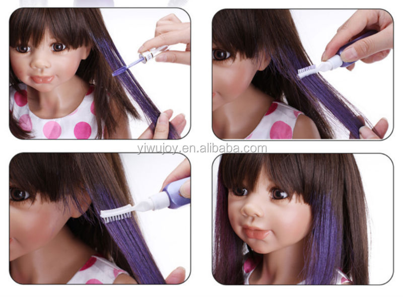 uv color changing with hair how to make