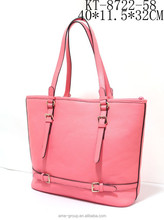 2015 Wholesale Summer Fashionable PU Leather Ladies Tote Bags