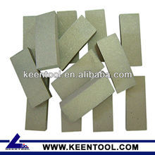 Diamond segment for welded saw blade(diamond product, cutting segment)