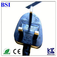 Hot UK Power adapter & Cable for IEC 320 C5 & C7, 2 in 1 UK travel power cord