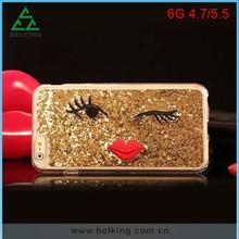 Bling Luxury Glitter Shinning Crystal Hard Case for iPhone 6