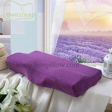 air flowing memory foam pillow