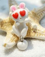Fashion Hot Cartoon Rabbit Polymer clay earrings for Women