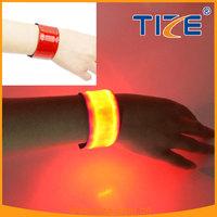party favor product pvc wristbands customized TZ-W200 pvc led flashlight wristband