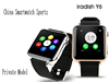 Private Hot Bluetooth watch smart phone, watch for Samsung,HTC,LG