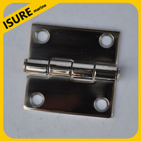 Boat Cleat POLISHED STAINLESS STEEL 3/2''*3/2'' HEAVY DUTY BOAT HINGE for Boat/Yacht/Ship