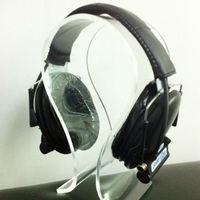 Noise cancelling tactical headset with clear seamless sound system for Military Aviation communication (PTE-789)