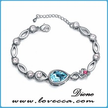 2012 Newest accessories exqusite crystal bracelet crystal bracelets wholesale