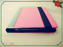 Mixing colors tablet cover case mae from PU leather with Waterproof performance