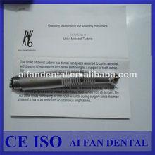 Dental aifan venta caliente dentales y e- generador de la turbina de aire handpieces kavo