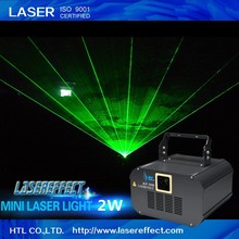 High quality indoor 2W green mini laser disco light for PUB laser show made in China