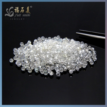 """Best Quality Hot Sale Roundelle natural white zircon gemstone 3mm faceted 16"""" Beads"""