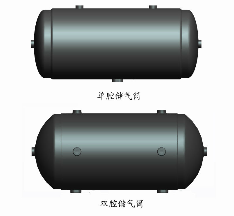 Stainless steel air pressure tank l brake reservoir