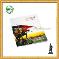 Full color Perfect bining company show catalogue printing