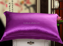 Silver 100% Mulberry Silk Pillowcase for Hair and Facial Beauty Queen/standard