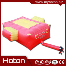 Professional giant safety jump inflatable rescue cushion for rescue with high quality