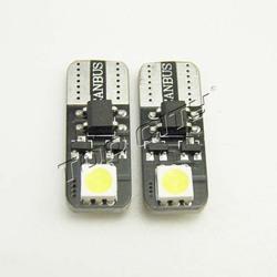 LED auto T10 194 2SMD canbus led license light 5050 smd led