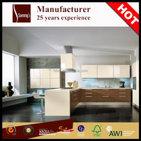 Pakistan buy laminate sheet fitted kitchen cabinets modern simple design