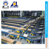 conveyor system for bulk transportation of a modern logistics system