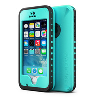 Waterproof Case for Iphone 5 5S Shockproof Fingerprint Scanner Touch ID Plastic Cover