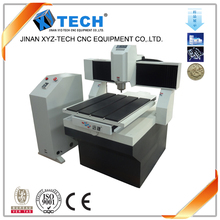 cnc router machine 3d low price for metal XJ6060 export