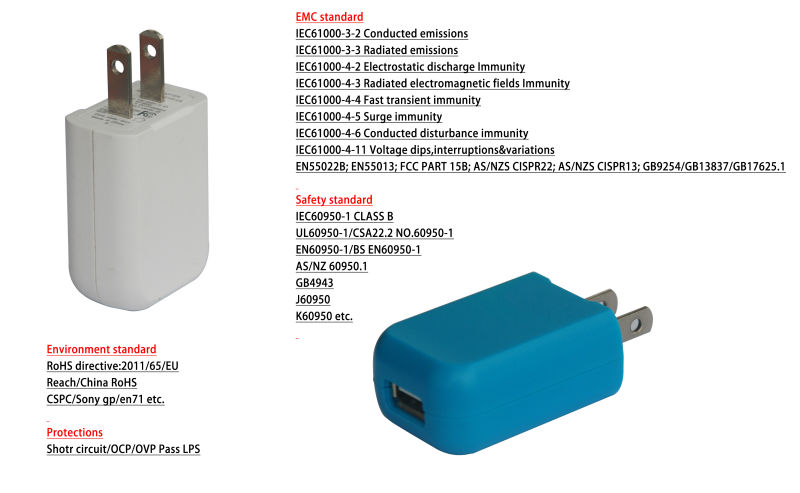 High quality quad usb charger with CE, UL, quick