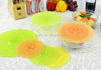 Custom silicone suction lids cover