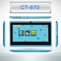 """7"""" A9 quad Core android tablet tablet PC Made in china kids tablet pc, best selling product"""
