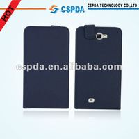 For Samsung galaxy note 2 N7100 cell phone flip PU leather case cover