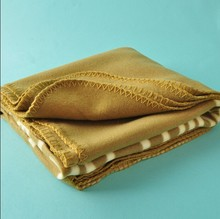 Anti pilling polar fleece fabric for blankets and bedding sheets for sale