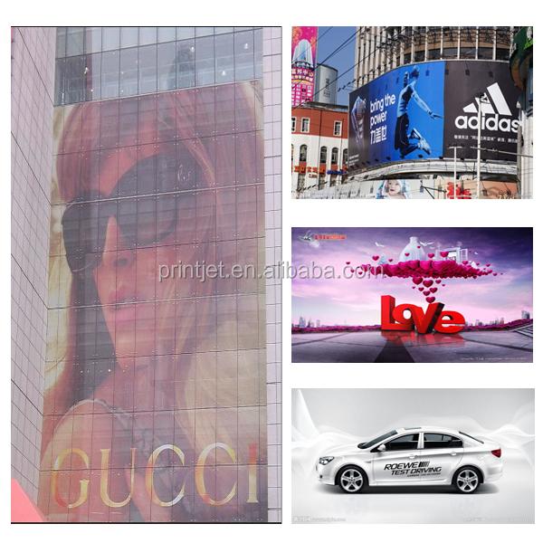 3.2 m haute vitesse numérique grand format flex bannière / vinyle ECO solvant machine d'impression à jet d'encre / prix de l'imprimante